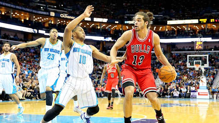 NBA: Chicago Bulls at New Orleans Hornets