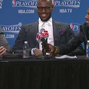 Cavaliers Discuss Game 1 Victory