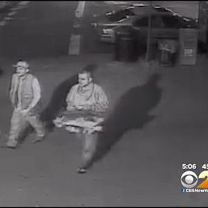 Police Search For Pair Accused Of Vandalizing WWII Memorial