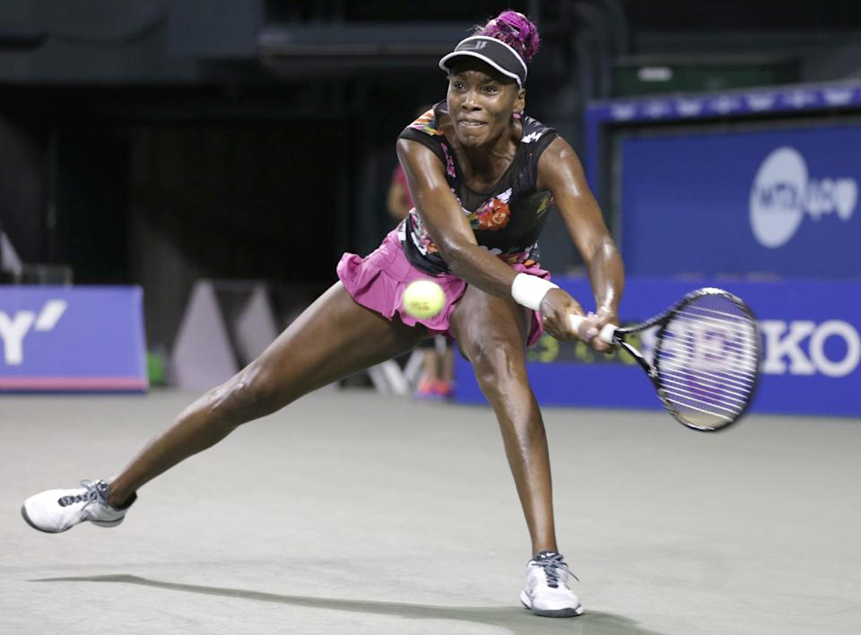 Venus advances to semis at Pan Pacific Open
