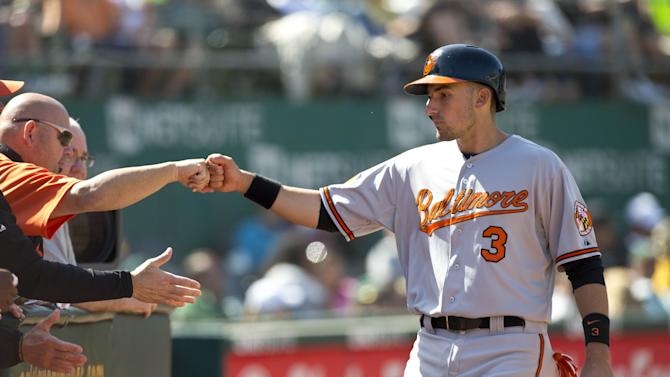 Baltimore Orioles v Oakland Athletics