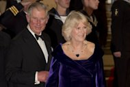 Britain's Prince Charles and Camilla, Duchess of Cornwall, arrive to attend the royal world premiere of the new James Bond film 'Skyfall' at the Royal Albert Hall in London