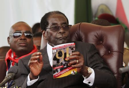 Former allies sue Mugabe and ZANU-PF party for breaching rules