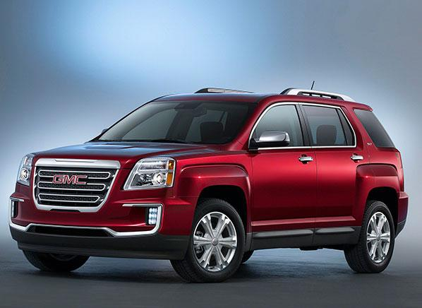 2016 GMC Terrain SUV gets a facelift, adds safety gear