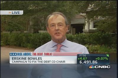 Why people are yelling at Erskine Bowles to 'stop the mad...