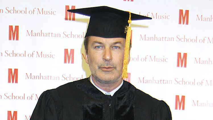 Call Him Doctor Alec Baldwin...As Alec Gets A Honorary Dr Of Musical Arts Degree