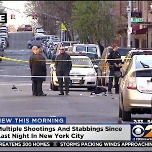 12 People Wounded In Separate NYC Shootings