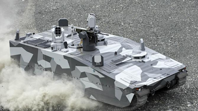 BAE breaks tank speed record with F1 inspired active suspension on CV90 armoured vehicles