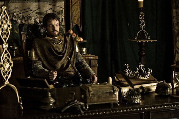 "Gethin Anthony as Renly Baratheon in ""Game of Thrones."""