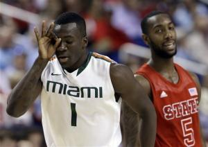 No. 9 Miami beats NC State 81-71 in ACC semifinals