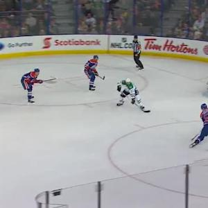 Kari Lehtonen Save on Benoit Pouliot (15:17/2nd)