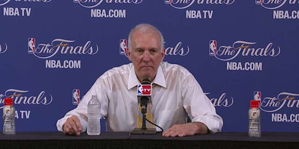 Gregg Popovich's substitutions open to second-guessing ...