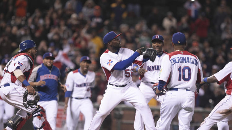 Baseball: World Baseball Classic-Netherlands vs Dominican Republic