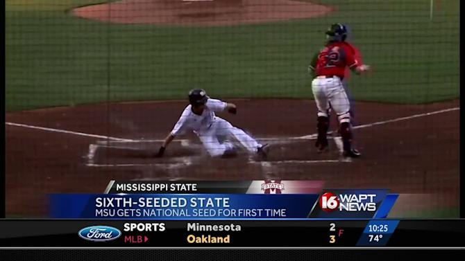 Mississippi State gets national seed for first time in school history