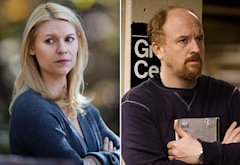 Claire Danes, Louis C.K. | Photo Credits: Kent Smith/Showtime, FX