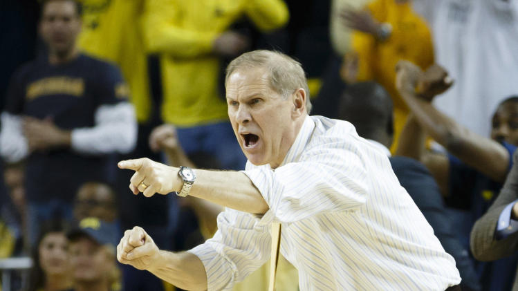 NCAA Basketball: Indiana at Michigan