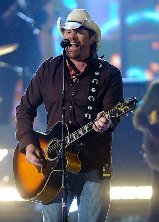 Toby Keith Country Music Awards