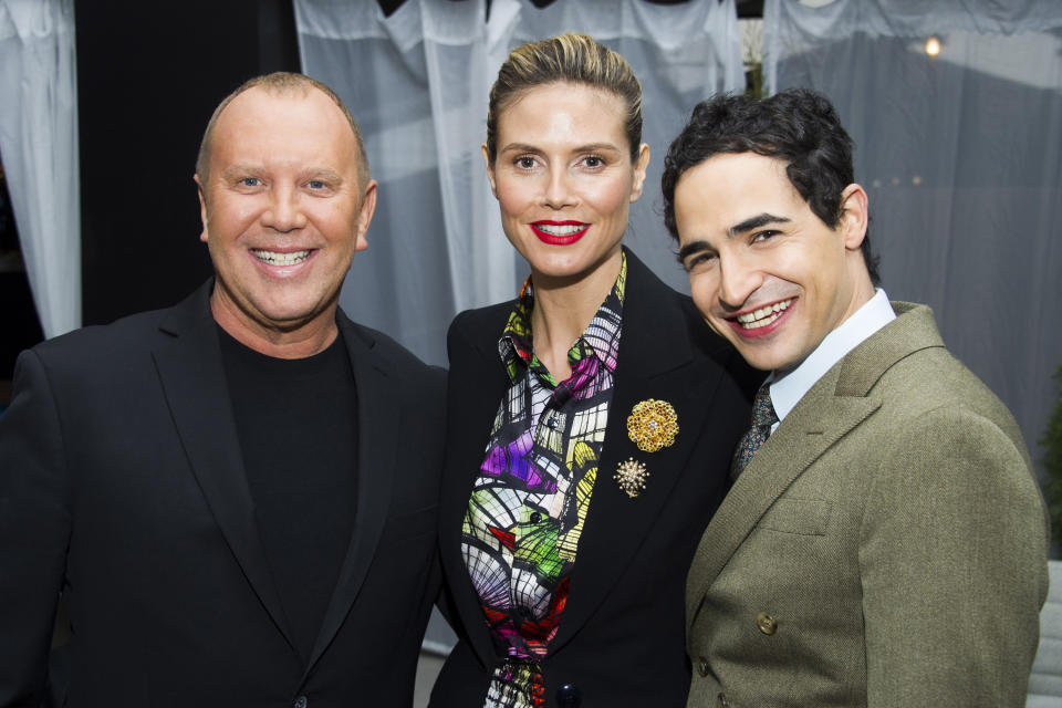 Posen, Kors share the 'Runway' at NY Fashion Week