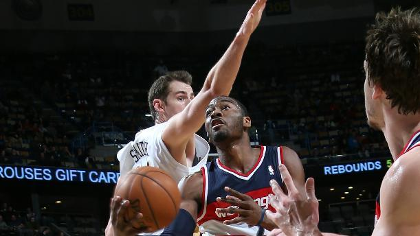 Ariza, Wall lead Wizards past Pelicans 102-96
