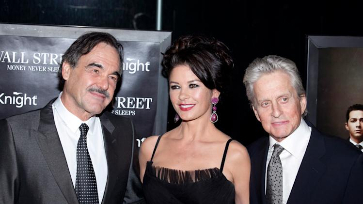 Wall Street Money Never Sleeps 2010 Oliver Stone Catherine Zeta Jones Michael Douglas