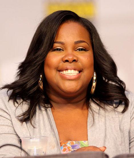Amber Riley is showing off her new look!