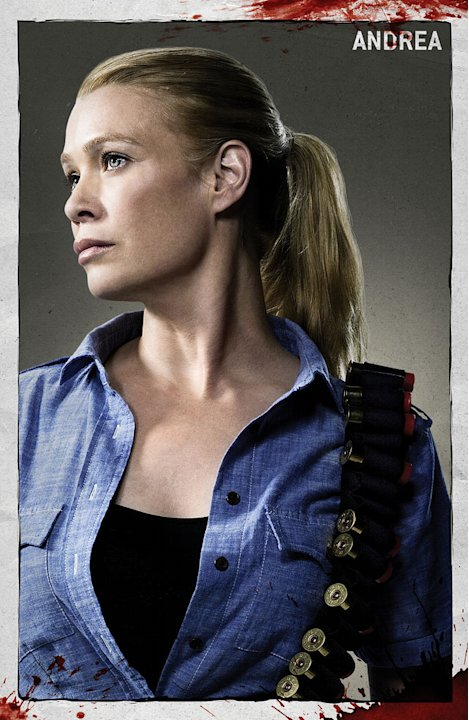 "Laurie Holden stars as Andrea in ""The Walking Dead."""