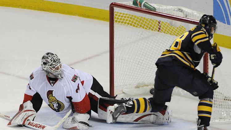 Sabres edge Senators in shootout 2-1