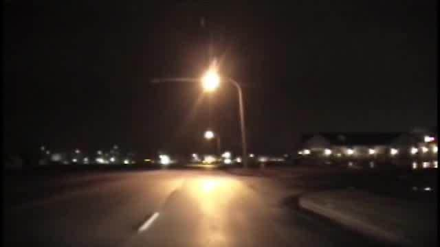 RAW: Dash cam video of shooting, chase