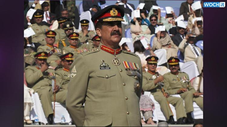Pakistan Army Chief: Won't Tolerate Terrorist Attacks