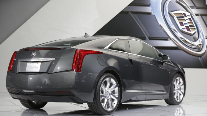 Chevy Volt goes upscale in new electric Cadillac