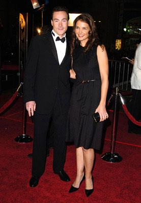 Chris Klein and Katie Holmes at the Hollywood premiere of Warner Bros. Ocean's Twelve