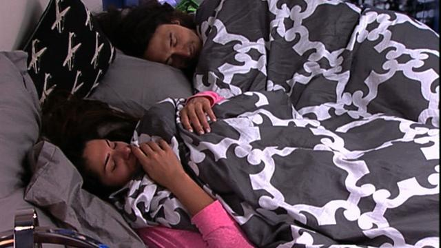Big Brother Feed Clip: Laying in Bed