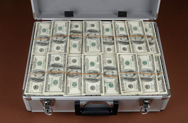briefcase cash