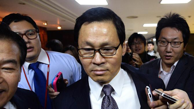 SKorean Cabinet nominee resigns amid loyalty row