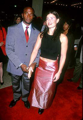 Taye Diggs and gal at the Century City premiere of Universal's The Best Man