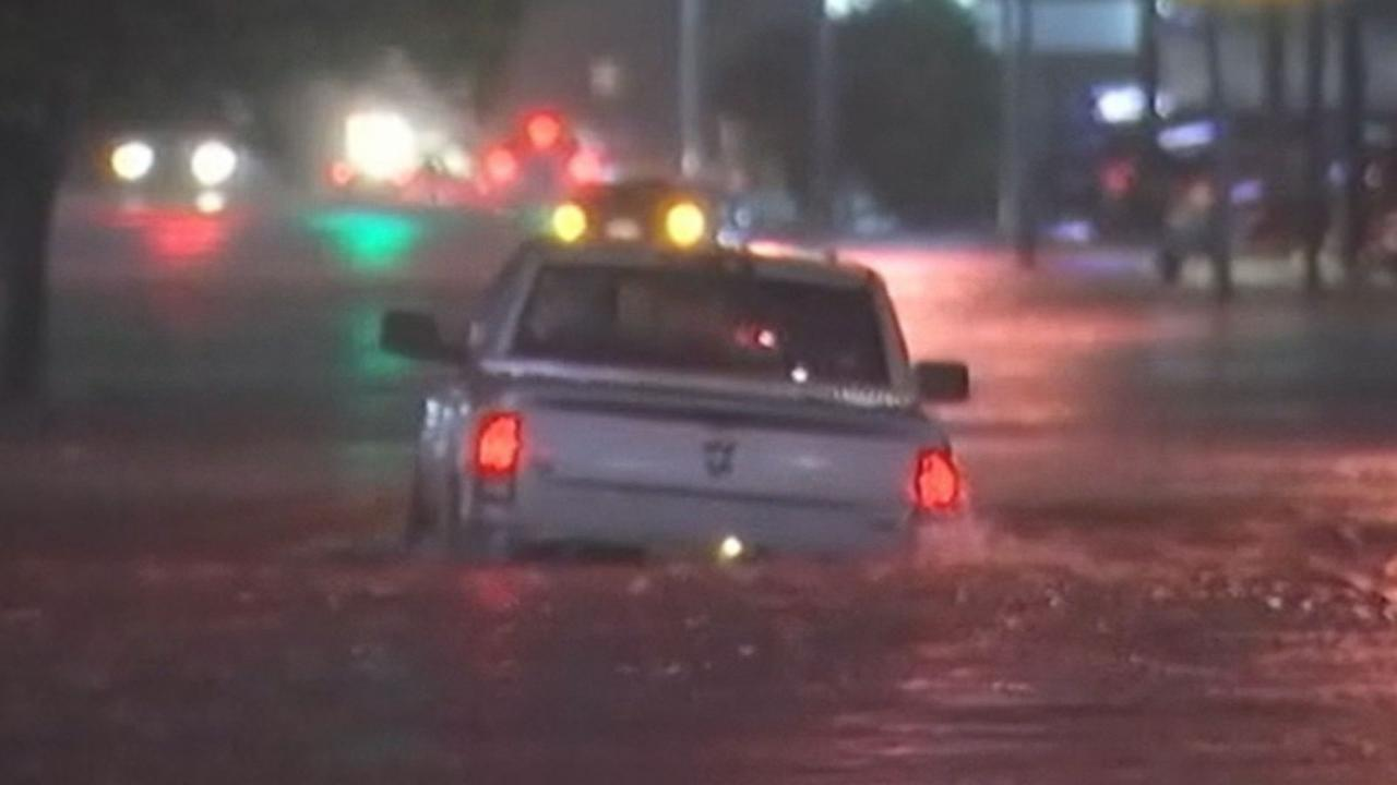 Torrential Rains Drench Texas
