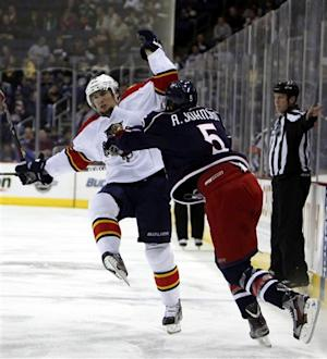 Nikitin, Umberger lead Blue Jackets past Panthers