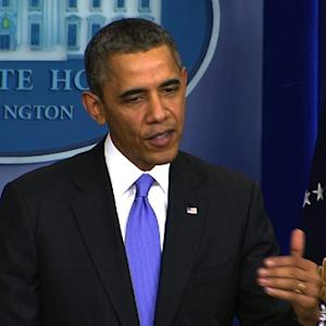 Obama defends 2013 job performance