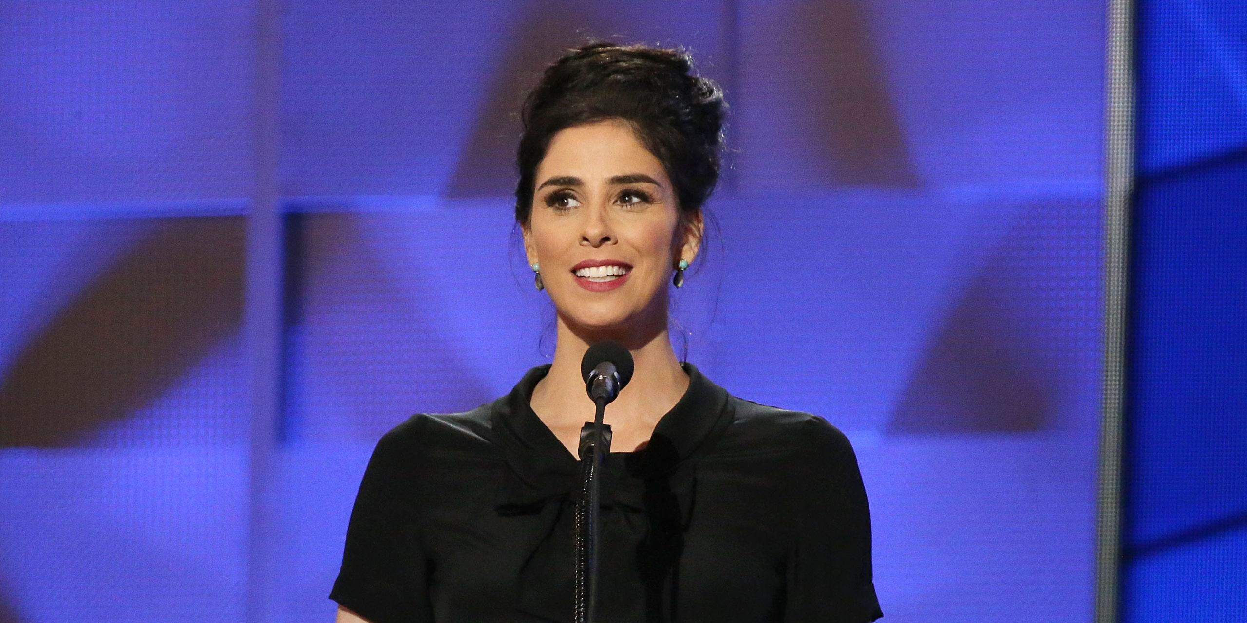 Hackers Took Over Sarah Silverman's Twitter and Posted an Anti-Hillary Message