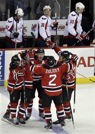 Kovalchuk's OT goal gives Devils win over Capitals