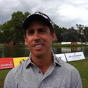 Rodolfo Cazaubon interview after Round 2 of Club Colombia Championship