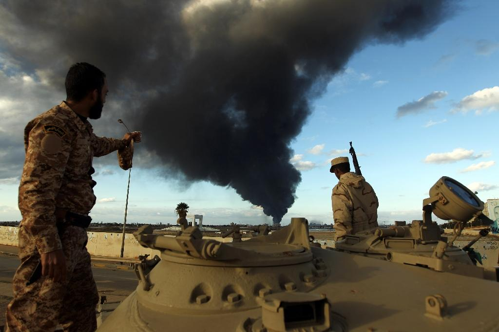 Libya's Tripoli authorities to join Geneva peace talks