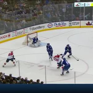 James Reimer Save on Jonathan Huberdeau (18:50/2nd)