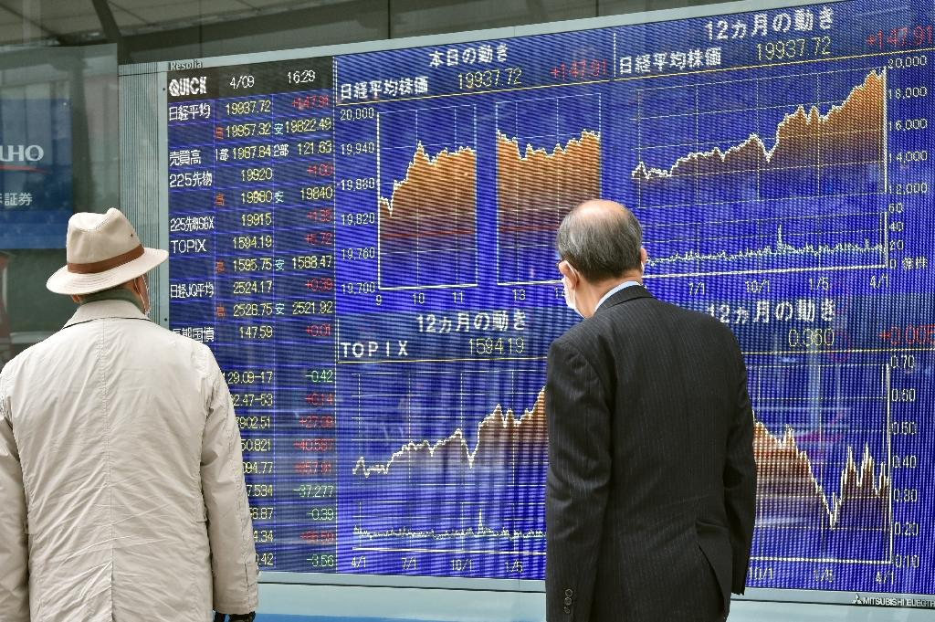 Major Asian markets largely higher after Wall Street hits record