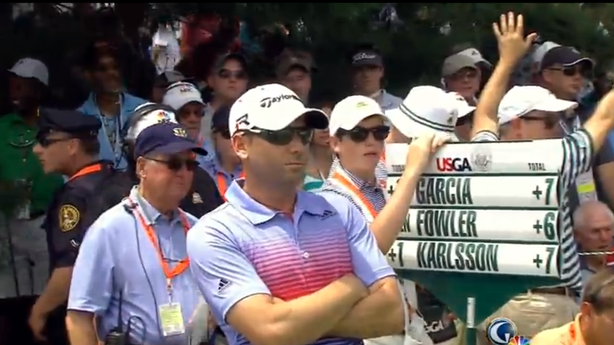 Sergio Garcia Can't Escape That 'Fried Chicken' Comment at the U.S. Open