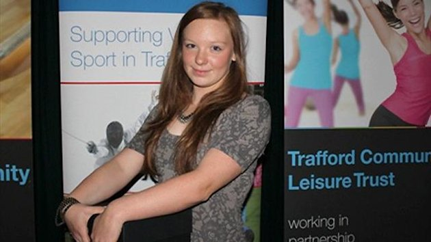 Chloe Waddell (Courtesy of Swim Trafford and Altrincham Swimming Club)