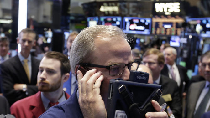 Stocks drop on mixed earnings; Twitter plunges