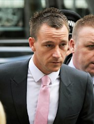 Chelsea captain John Terry is giving evidence in his trial for allegedly racially abusing Anton Ferdinand