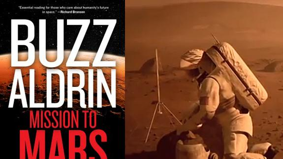Moonwalker Buzz Aldrin Launches 'Mission to Mars' Book Tour