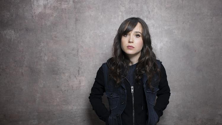 """Actress Ellen Page from the film """"The East"""" poses for a portrait during the 2013 Sundance Film Festival on Sunday, Jan. 20, 2013 in Park City, Utah. (Photo by Victoria Will/Invision/AP Images)"""